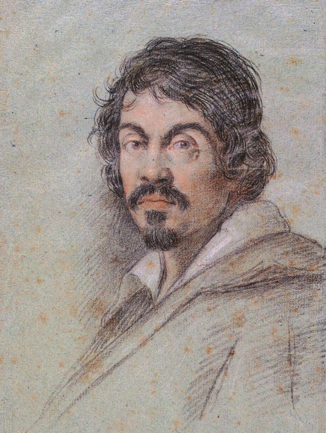 Portrait of Michelangelo Merisi da Caravaggio by Ottavio Leoni (1578 -1630)