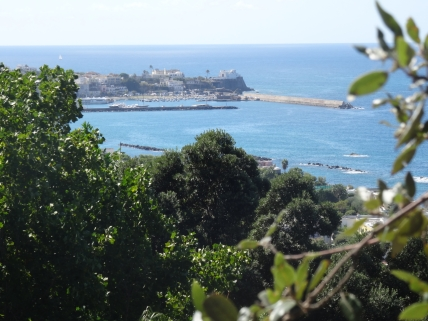 Sea views at La Mortella