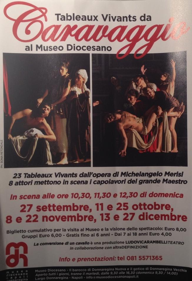 Tableaux Vivants da Caravaggio al Museo Diocesano Naples, Italy