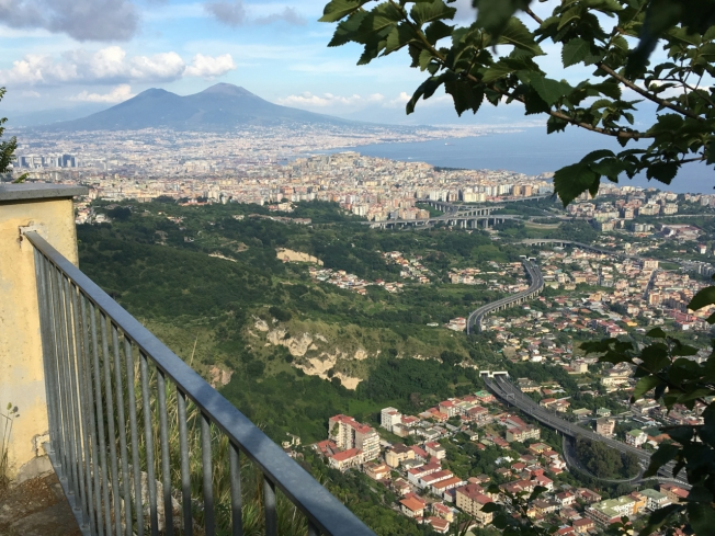 View from Camaldoli, Naples, Italy