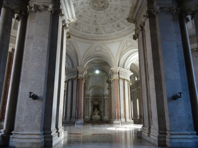The Royal Palace at Caserta