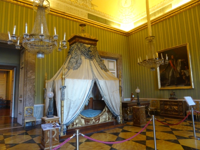 The bedroom of Joachim Murat in the Royal Palace at Caserta