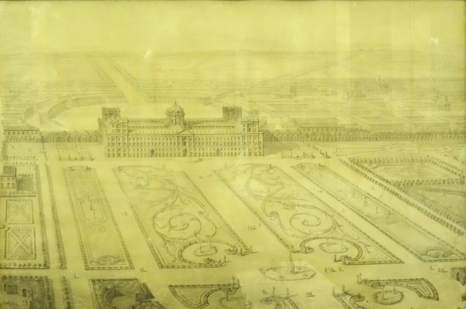 Plan of the Royal Palace at Caserta