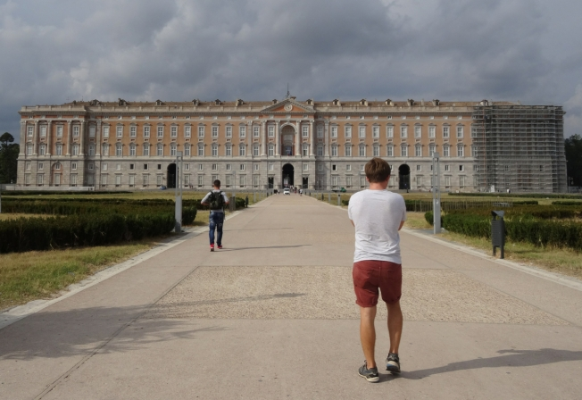 The Royal Palace at Caserta, Italy
