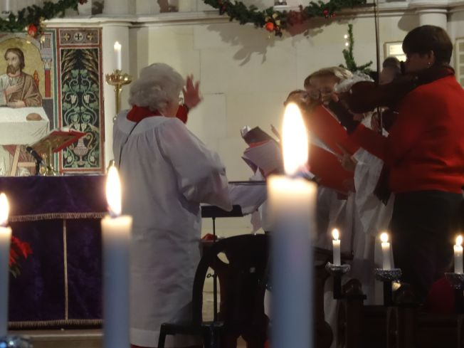 Carols in the English Church in Naples, Italy