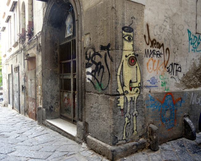 The violent story - Naples, Italy