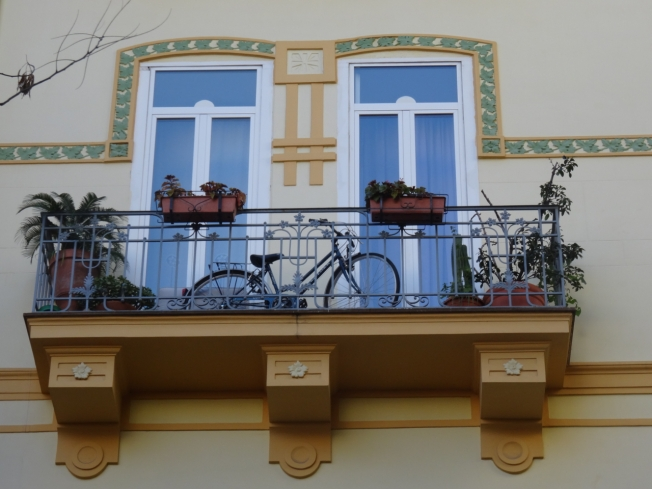 Balcony in Chiaia
