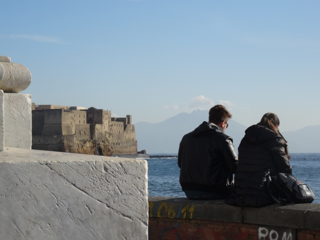 "Naples, Italy: ""The society is changing rapidly. The younger generation now speaks Italian, English and Neapolitan."""