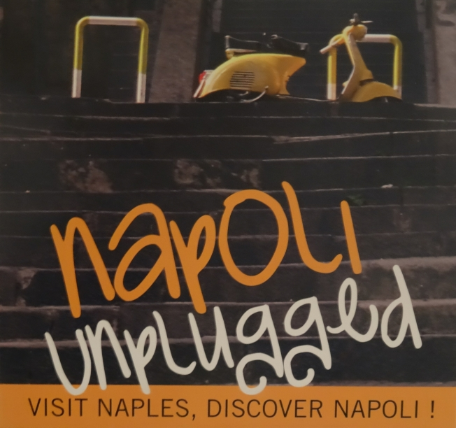 "First a website and now a book as well: ""The Napoli Unplugged Guide to Naples""."