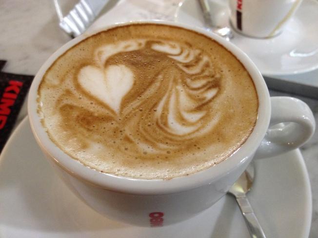 Early morning coffee at Aeroporto Internazionale di Napoli