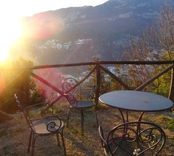 The gardens at Villa Cimbrone, Ravello, Italy