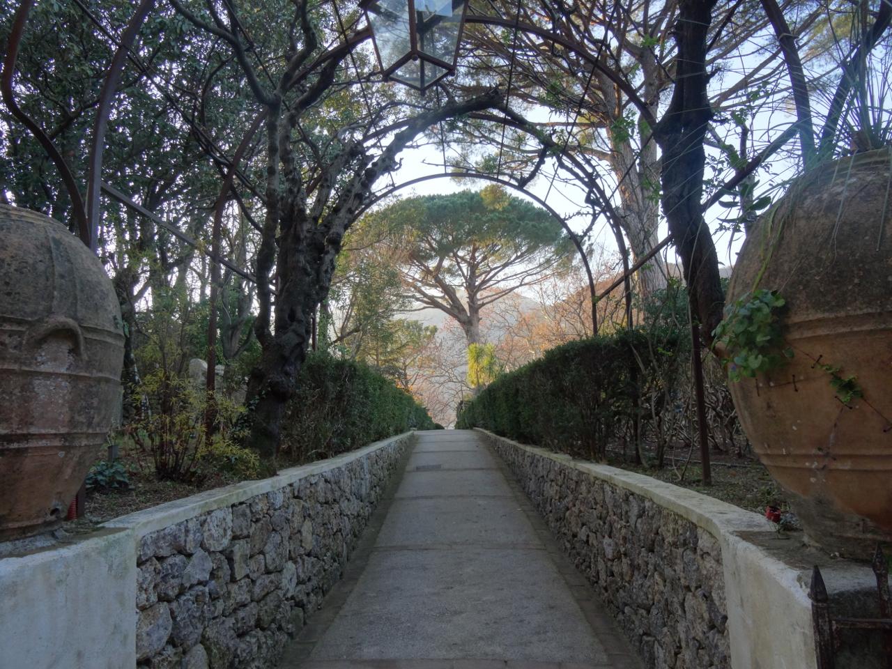 Ravello The Gardens Of Villa Cimbrone The Phraser