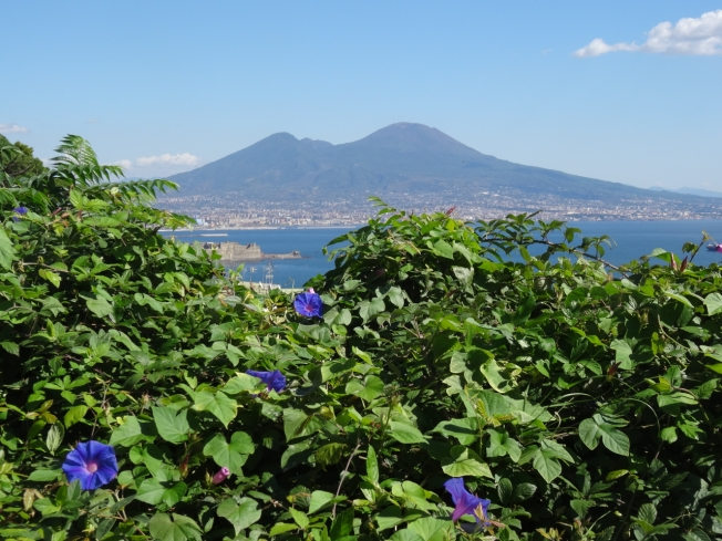 The 'formidable, shapeless heap' of Vesuvius