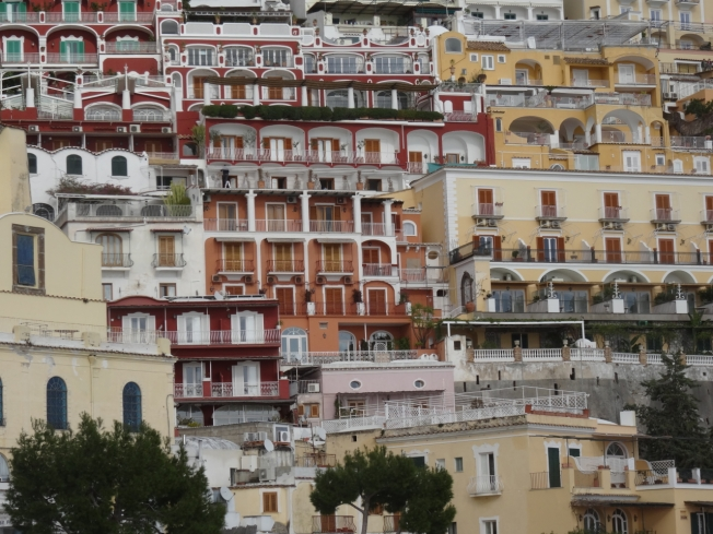 Positano - face turned to the sun