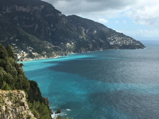 A hidden Saracen Tower on the Amalfi Coast, Italy