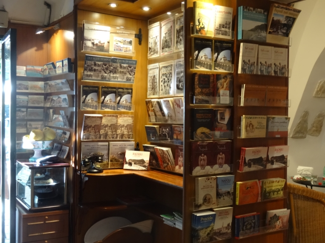Caffè Letterario - Piazza Bellini Naples, Italy