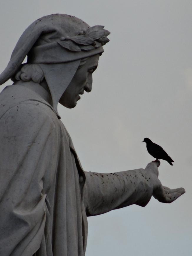 Dante - in Piazza Dante in Naples, Italy