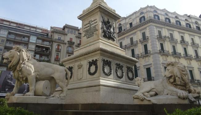 Piazza dei Martiri - Naples, Italy