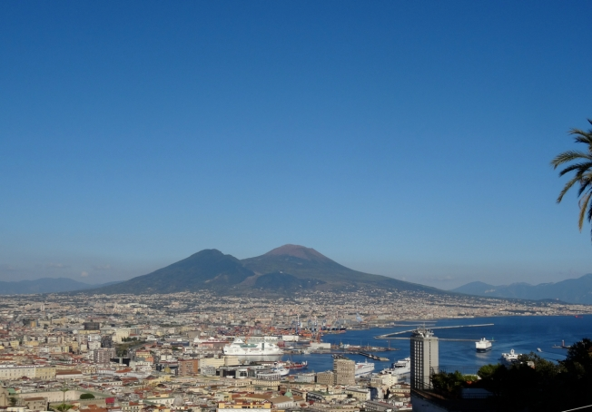 Vesuvius and Naples, Italy