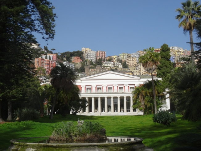 Villa Pignatelli in Naples, Italy