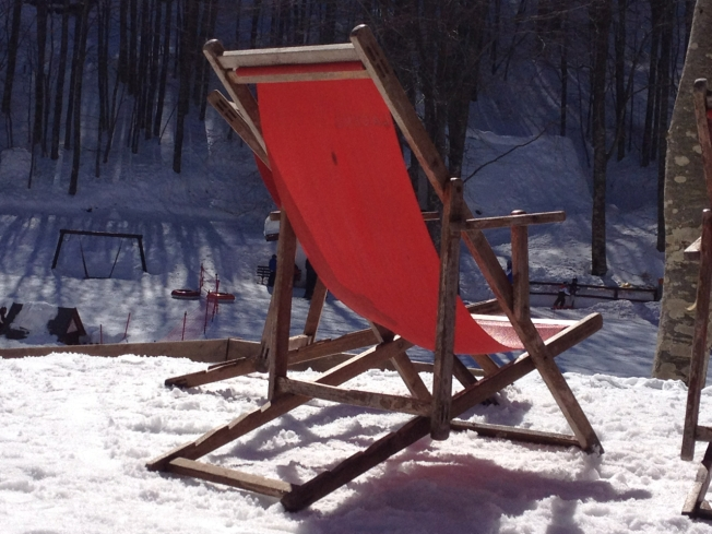 Options for the non-skiers at Lago Laceno near Avellino in Italy