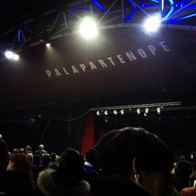 The Palapartenope Theatre hosted a stage version of 'Passione' in December 2015