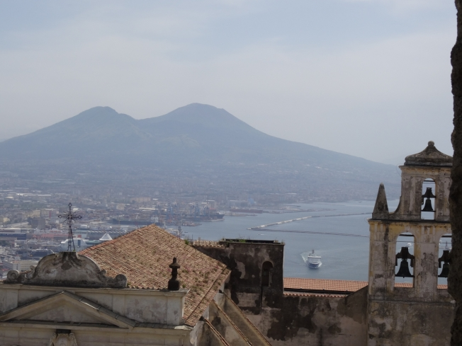Naples, Italy on a not-so-blue day