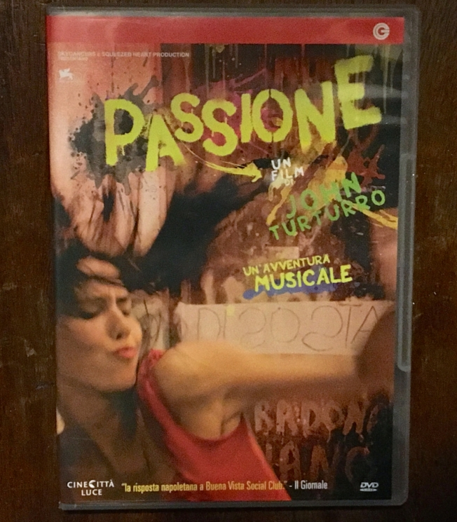 Passione a film by John Turturro about the music of Naples, Italy