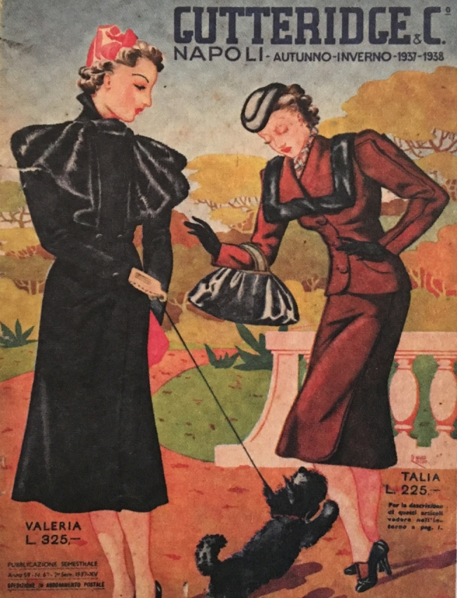 The cover of an old Gutteridge & Co catalogue