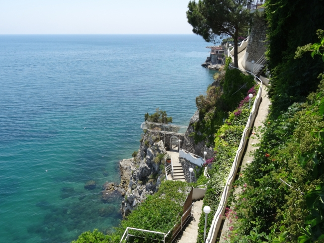 The Amalfi Coast in Italy