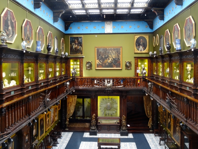 The Museo Civico Gaetano Filangieri in Naples, Italy