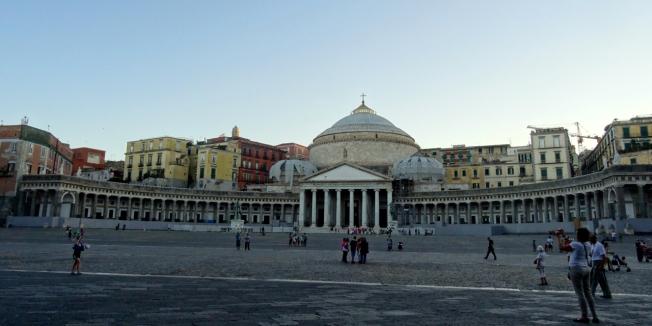 Piazza del Plebiscito - Naples, Italy