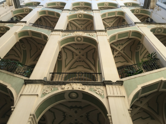 Palazzo dello Spagnolo in Rione Sanità in Naples, Italy