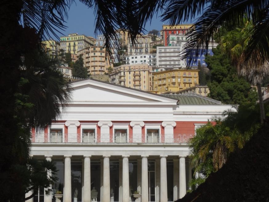 Villa Pignatelli and the Museo del Principe Diego Aragona Pignatelli Cortés in Naples, Italy
