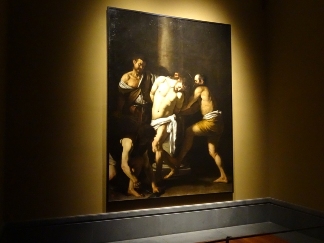 'The Flagellation' by Caravaggio (Capodimonte in Naples, Italy)