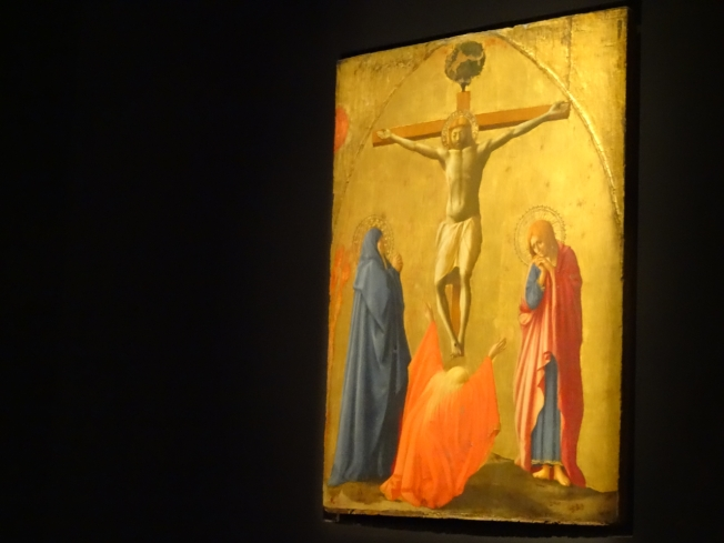 Crocifissione (1426) by 'Tommaso di set Giovanni detto Masaccio (San Giovanni Valdarno 1401 - Roma 1428)