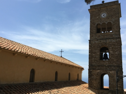 The Basilica di Santa Maria de Gulia in Castellabate in Cilento