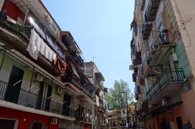 Naples, Italy - rione Sanità