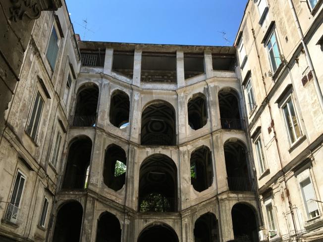 The 'twin' of the Palazzo dello Spagnolo in Sanità, in Naples, Italy