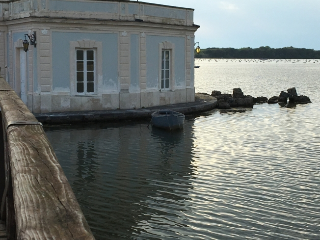 La Casina Vanvitelliana on Lago Fusaro
