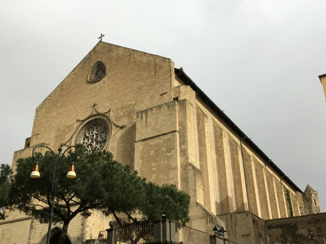 The church of Santa Chiara in Naples, Italy