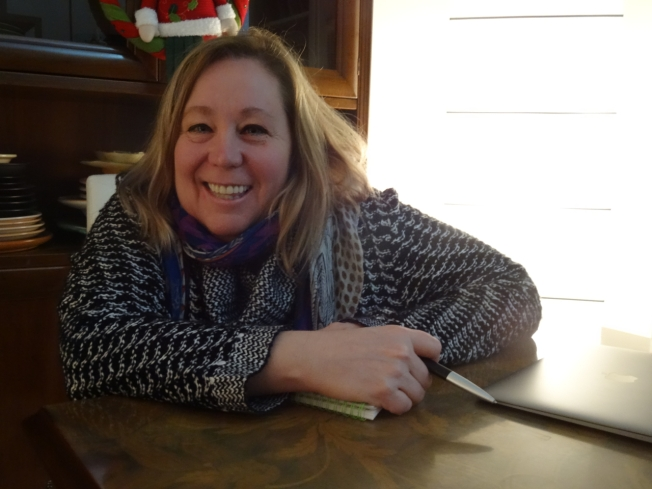 Bonnie Alberts - one of the four authors of the Napoli Unplugged Guid to Naples