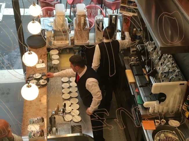 The art of coffee in Naples, Italy