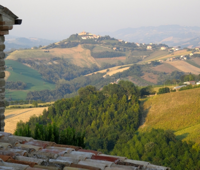 2015 - Le Marche on the edge of the Sibillini Mountains in Italy