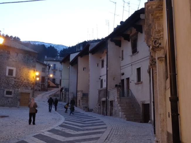 2016 - one of the beautiful towns in the Apennine Mountains in Italy