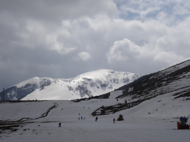2016 - spring skiing in Abruzzo