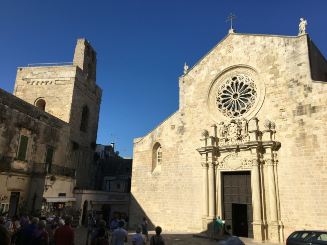 The cathedral in Otranto, Puglia.