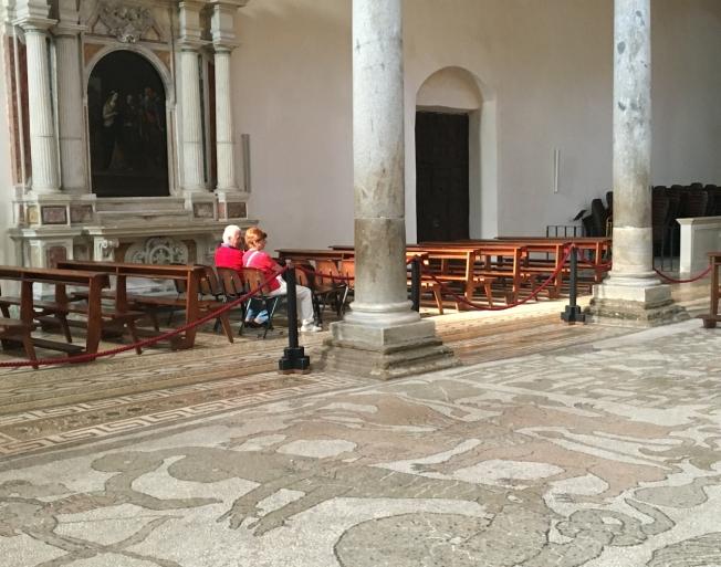 Otranto cathedral in Puglia, Italy