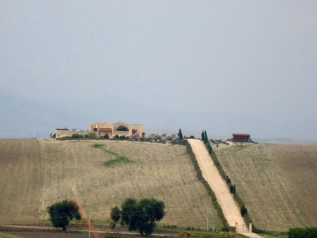 Basilicata, near Matera in Italy