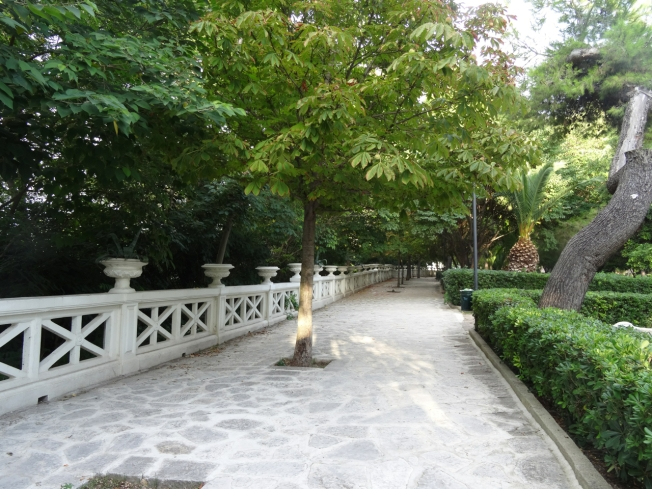 A park in Taranto, in Puglia, Italy